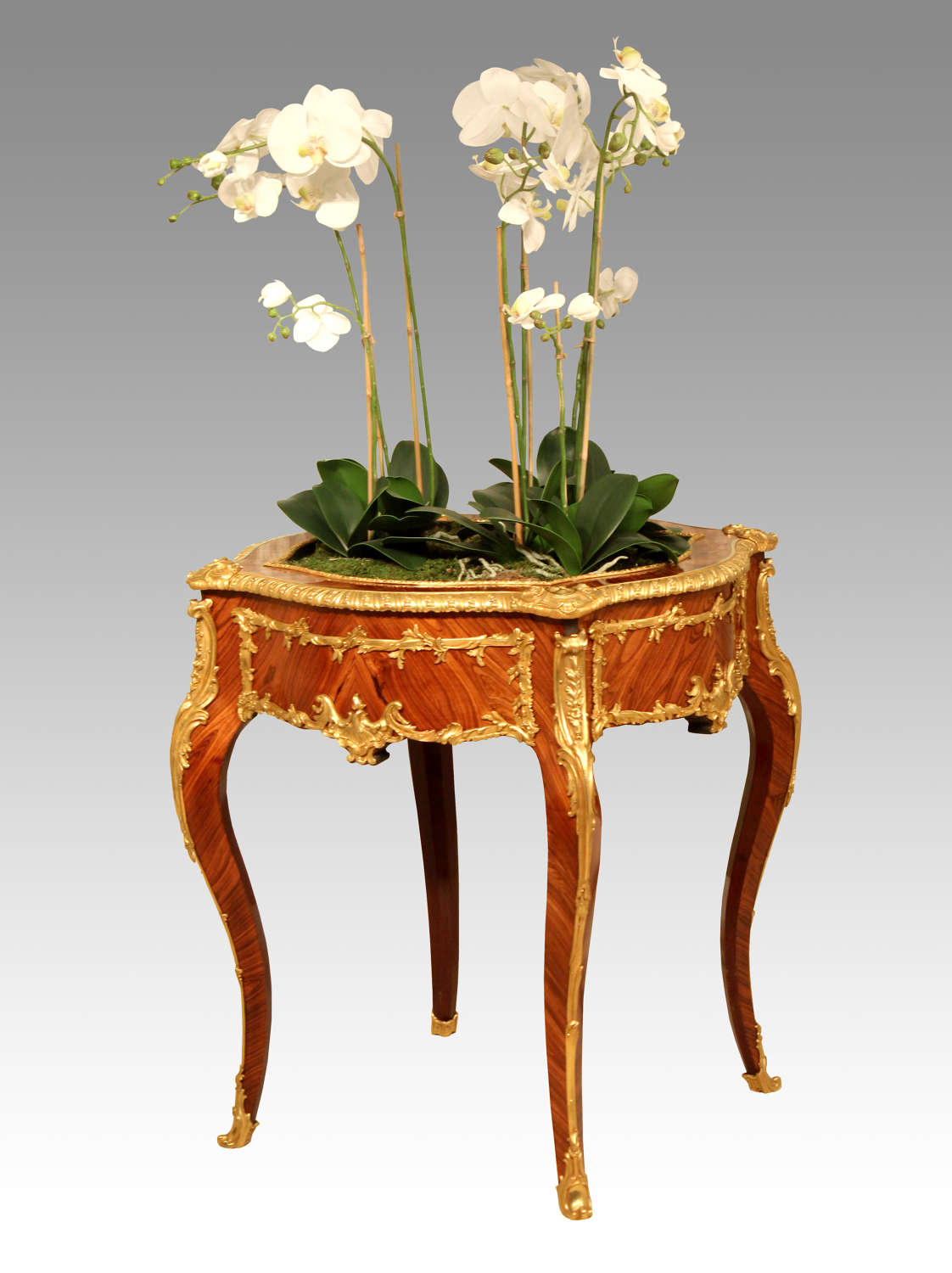 A Late 19th Century Kingwood And Ormolu Mounted Jardiniere