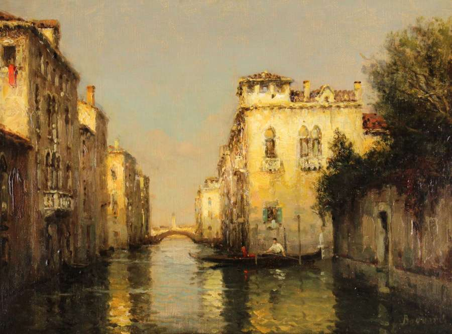 Antoine Bouvard Snr (1870-1956) Oil on Canvas