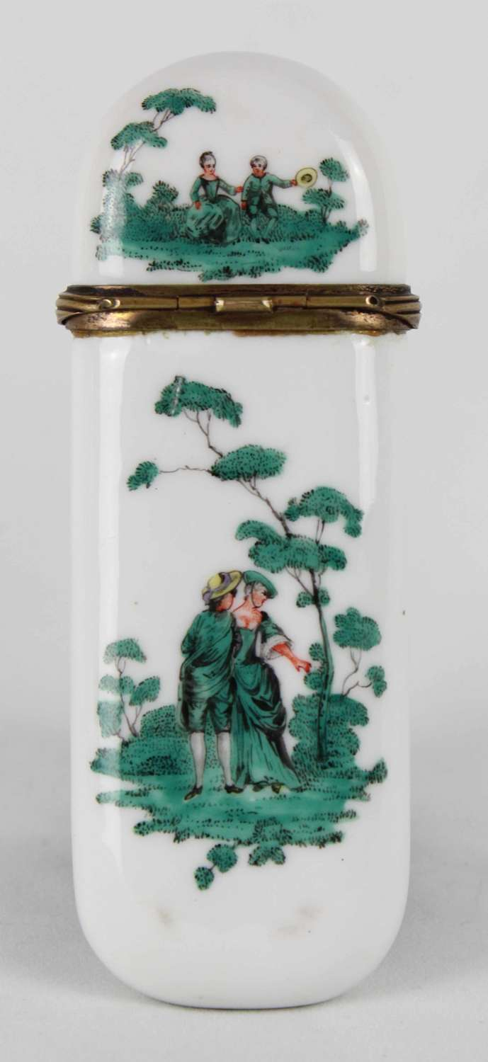 A Superb 19th C. French Porcelain etui