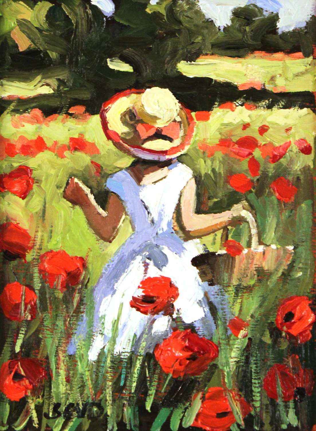 SHERREE VALENTINE DAINES - Oil on Canvas