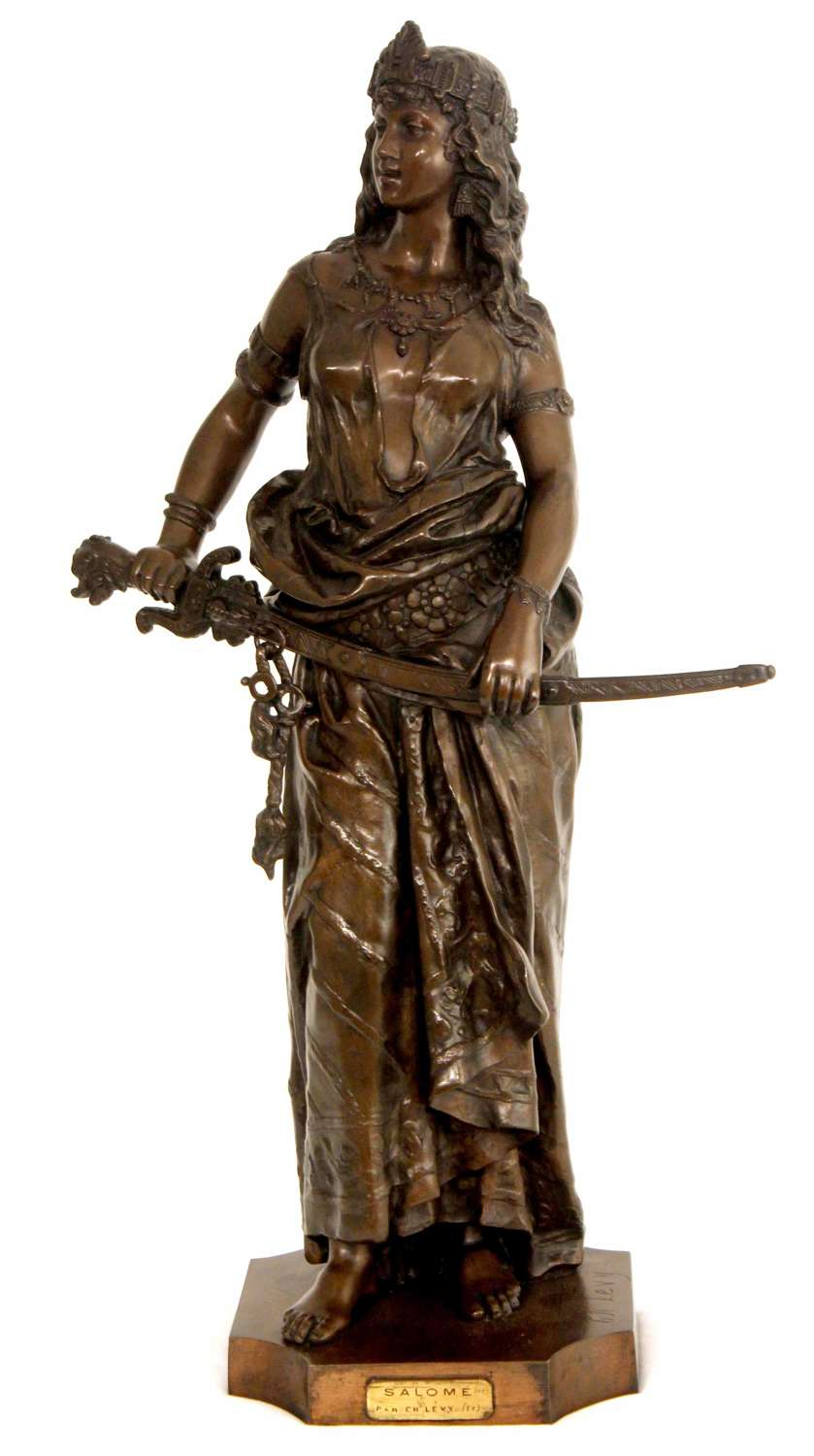 Charles-Octave Levy (1820-1899) Large 19th C. French Bronze