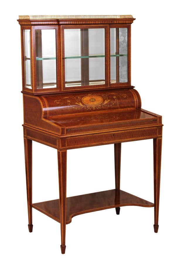 Edwards & Roberts Miniature Cylinder Desk
