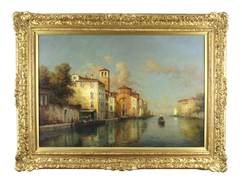 Antoine Bouvard Snr (1870-1956) Oil on Canvas