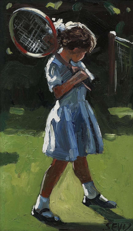 SHERREE VALENTINE DAINES - Oil on Canvas