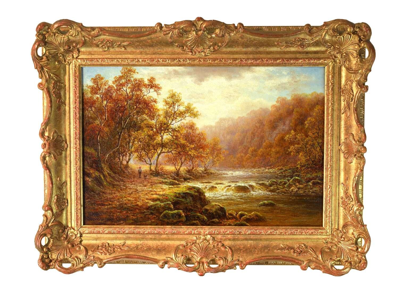 WILLIAM MELLOR (1851 - 1931) Oil on Canvas